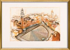"Bild ""Siena"" (2000), gerahmt"