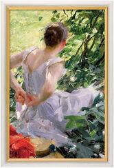 """Bild """"Im Wald"""" (1893), gerahmt"""