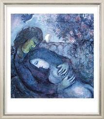 """Bild """"Traum der Liebenden"""",  1962, gerahmt"""