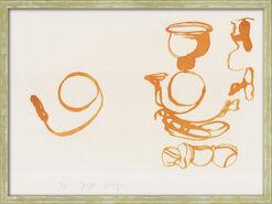 """Bild """"Aus dem Leben der Biene"""" (1978), gerahmt"""