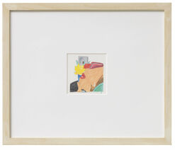 """Bild """"Sketch for Bedroom Face"""" (1981) (Unikat)"""