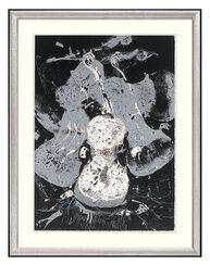 """Bild """"Violons"""" (um 1983), gerahmt"""
