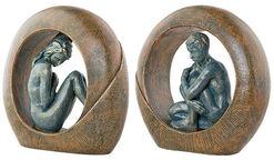 """Zwei Skulpturen """"Venus"""" und """"Saturn"""" im Set"""