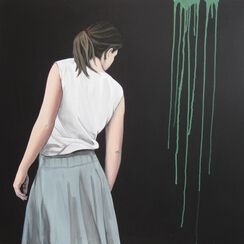 """Bild """"Aber morgen wird alles schöner"""" (2012) (Unikat)"""