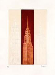 "Bild ""New York - Crysler Building"", ungerahmt"