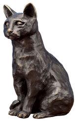 """Skulptur """"Katze"""" (2011), Bronze"""