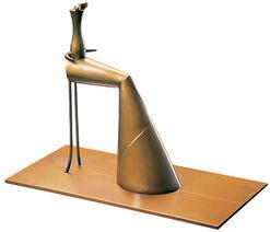 "Skulptur ""Femme assise"", Bronze"