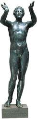 """Statue """"Betender Ephebe"""" (Originalgröße), Version in Bronze"""