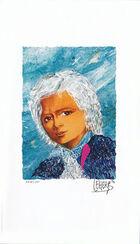 "Bild ""Wolfgang Amadeus Mozart"", ungerahmt"