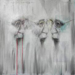 """Bild """"Hermann Nitsch"""" (2010) (Original / Unikat), ungerahmt"""