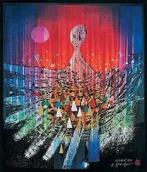 "Bild ""Namoani"" (1998), ungerahmt"