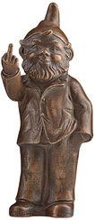 """Skulptur """"Sponti-Zwerg"""", Version bronziert"""