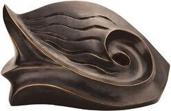"""Skulptur """"The Fish"""", Bronze"""