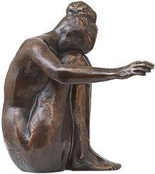"Skulptur ""Melancholie"", Bronze"
