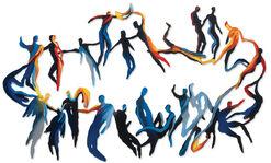"Wandskulptur ""Star Dance"" (2013)"