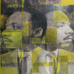 "Bild ""Martin Luther King"" (2010) (Original / Unikat), ungerahmt"