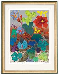 """Bild """"Mein Blumengarten"""" (2001), ungerahmt"""