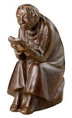"""Skulptur """"Der Buchleser"""" (1936), Reduktion in Bronze"""