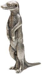 """Skulptur """"Erdmännchen"""" (2009), Version versilbert"""