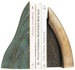 """2 Skulpturen / Buchstützen """"Welle"""" und """"Objekt"""" im Set"""