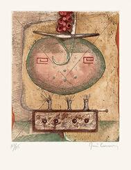 "Bild ""La Terre"" (1975), ungerahmt"