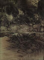 """Bild """"A letto"""", 1974, ungerahmt"""