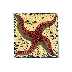 "Kachel ""Das Meer"", Keramik"