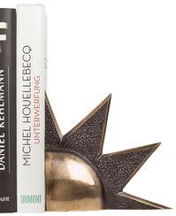 "Skulptur / Buchstütze ""Sonne"", Bronze"