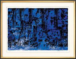 """Bild """"Naturinspiration (blau)"""" (2003), ungerahmt"""