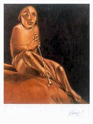 """Bild """"Musica"""" (1979), ungerahmt"""