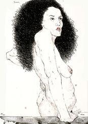 """Bild """"Rosanne"""" (1998), ungerahmt"""