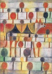 """Teppich """"Kamel in rhythmischer Baumlandschaft"""" (230 x 160 cm)"""