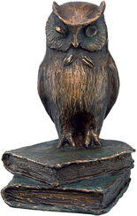 """Skulptur """"Eule"""", Bronze"""
