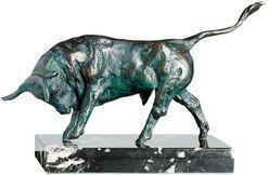 """Skulptur """"Angreifender Stier"""", Bronze"""
