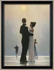 "Bild ""Dance me to the end of love"", gerahmt"
