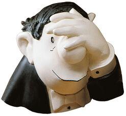 "Skulptur ""Der Optimist"", Version in Kunstguss"