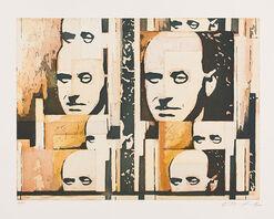"""Bild """"Gottfried Benn"""", 2006, ungerahmt"""