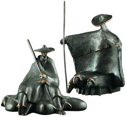 """Skulpturengruppe """"Die Hirten"""" (1982), Bronze"""
