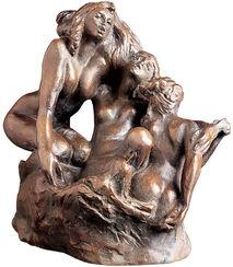 """Skulpturengruppe """"Sirenen"""" (1880), Kunstbronze"""