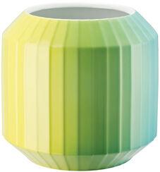 "Porzellanvase ""Hot-Spots - Lime Flush"" (mittelgroß, Höhe 22 cm)"
