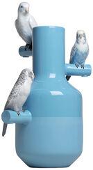 """Porzellanobjekt """"Parrot Parade"""", handbemalt"""