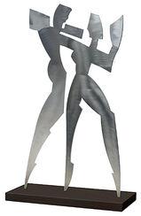 "Skulptur ""Shadow Dance I"" (2006), Aluminium"