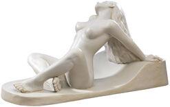 "Skulptur ""Liegender Akt"", Version in Kunstmarmor"
