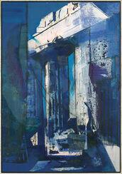 """Bild """"Tempel von Segesta"""" (2004), gerahmt"""