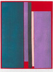 """Bild """"Composizione a Colore"""" (1970), ungerahmt"""