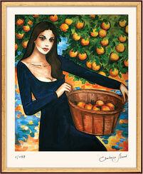 """Bild """"Orangenduft"""", gerahmt"""