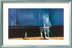 """Bild """"Marine-Blau"""" (1924), gerahmt"""