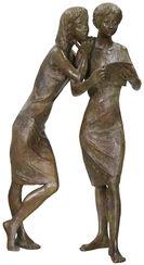 """Skulptur """"Der Brief"""", Bronze"""