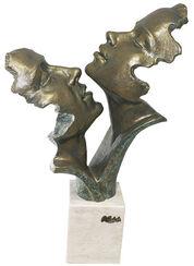 "Skulptur ""Passion"", Kunstguss Steinoptik"