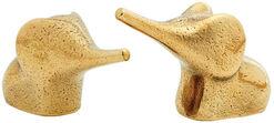 "Miniaturenset ""Elefanten-Eltern"", Bronze"